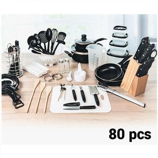80 Piece Kitchen Starter Set | Shop Online | Snatcher