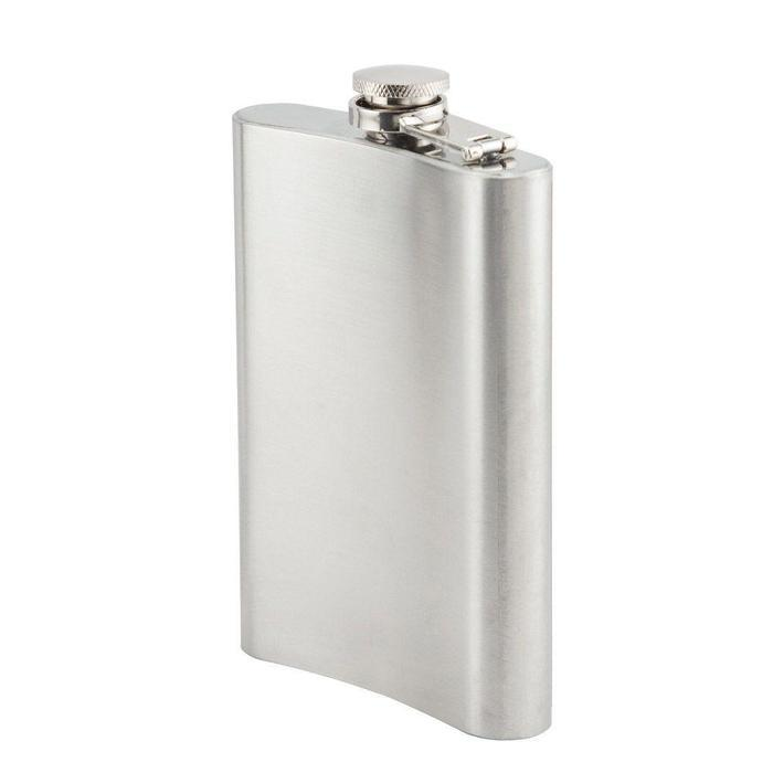 8oz Stainless Steel Hip Flask | Shop Online | Snatcher