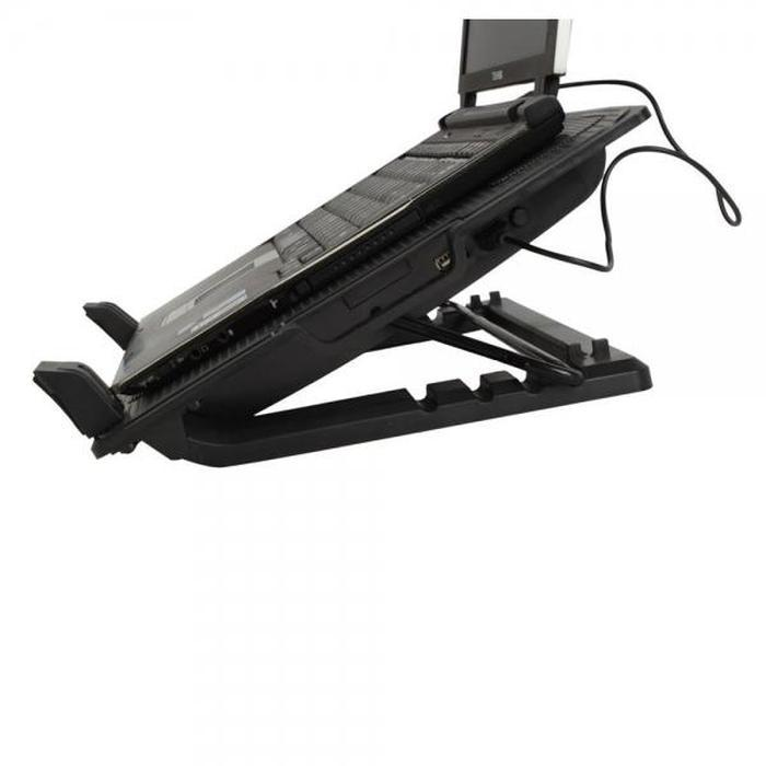 9″ to 17″ Notebook Laptop Cooling Pad with Angle Stand | Shop Online | Snatcher