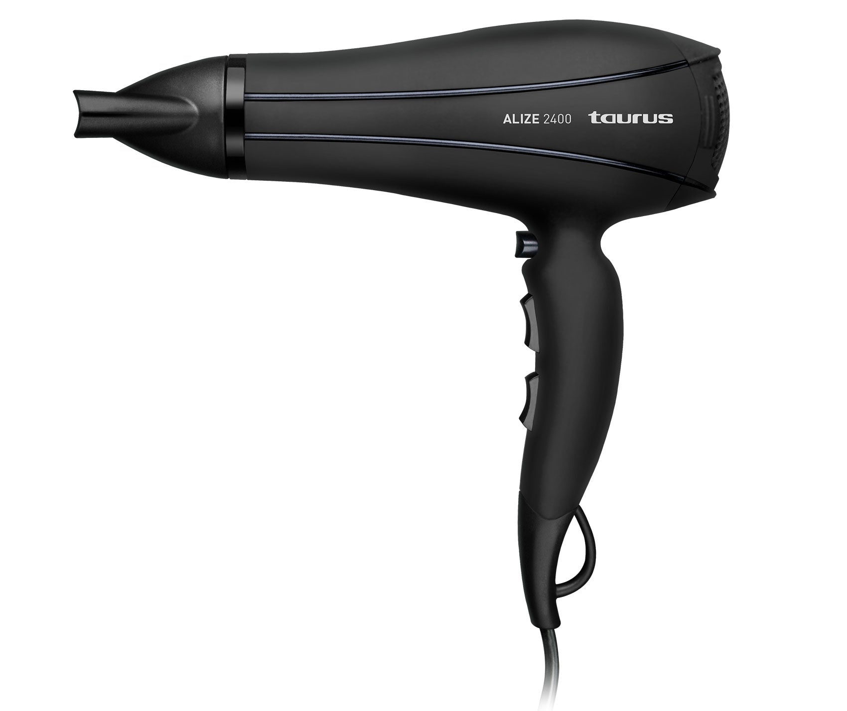 "Taurus Hair Dryer With Diffuser Plastic Black 2400W ""Alize 2400"""