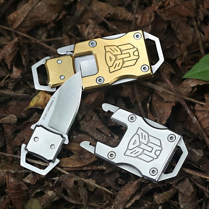 Optimus Prime Keychain Knives