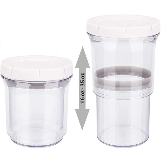Homemax Smart Storage Adjustable Container - Set of 2