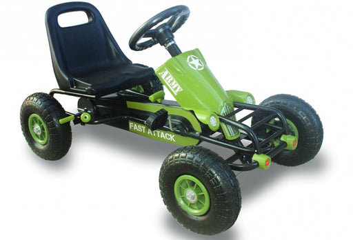 Large Go Kart Racing Car With Rubber Wheels
