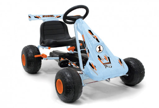 Light Blue Go Kart