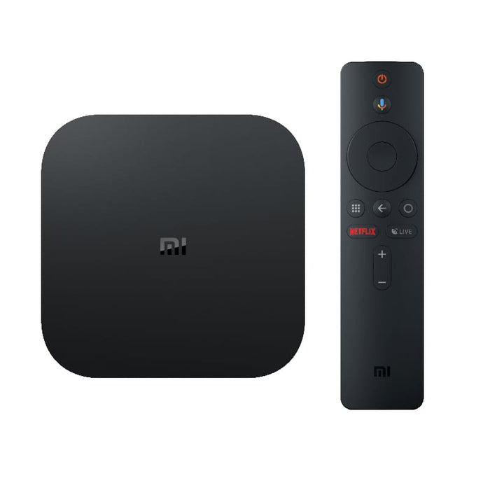 MI BOX S Ultra HD 4K Streaming Media Player - Google Assistant Chromecast  Built-in Android TV OS 8 1 2 4/5GHz BT 4 1