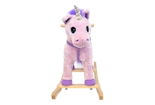 Purple Rocking Unicorn