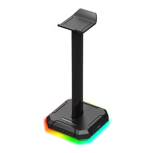 Redragon SCEPTER PRO Quad USB2.0 RGB Headset Stand - Black