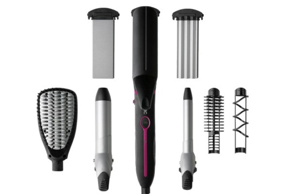 "Solac Hair Curler 7 In 1 Black 50W ""Expert Total Style"""