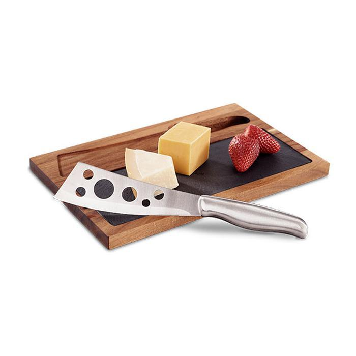 Acacia Wood Cheese Board With Cheese Knife | Shop Online | Snatcher