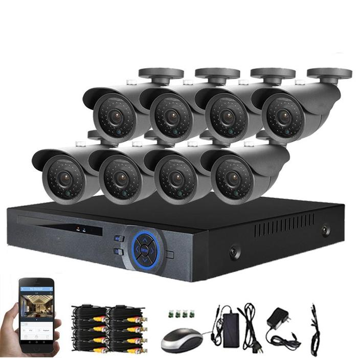 AHD Kit 1080P Full HD Video Security System | Shop Online | Snatcher