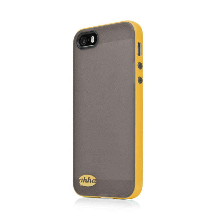 Ahha Soft Case Lulla iPhone 5/5S Cover (Black/Yellow)