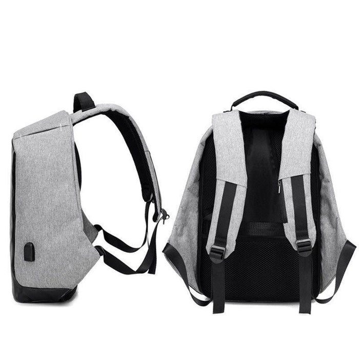 Anti Theft Backpack With USB Charging Port | Shop Online | Snatcher