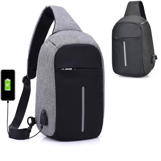Anti-Theft Crossbody Backpack