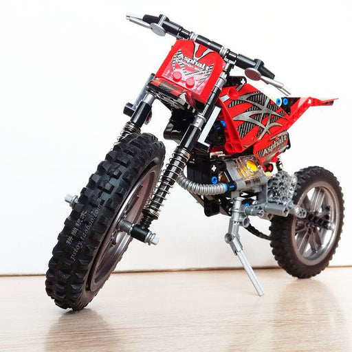 Mountain Motorcycle Building Blocks
