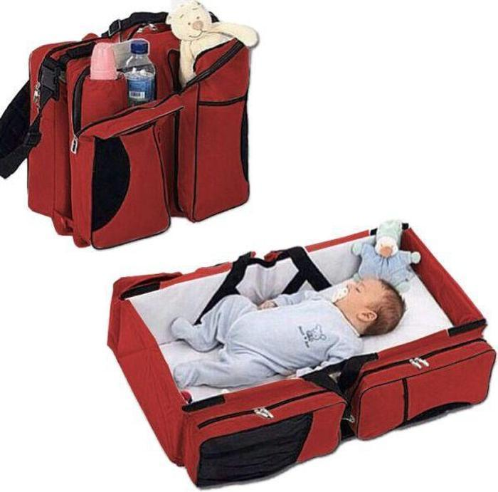 Baby Bed And Bag 2-In-1 | Shop Online | Snatcher