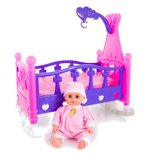 Baby Doll And Crib Set | Shop Online | Snatcher