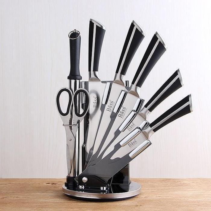 Bãss 7 Piece Knife Set With Stand | Shop Online | Snatcher