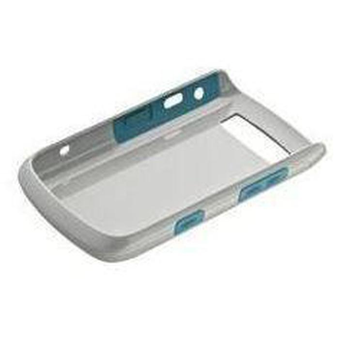 Blackberry 9700/9780 Hard Shell (Grey/Turquoise) | Shop Online | Snatcher