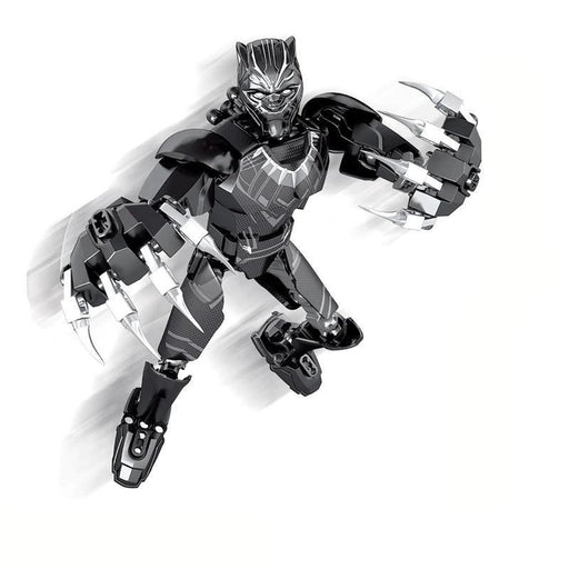Buildable Figurine- Black Panther | Shop Online | Snatcher