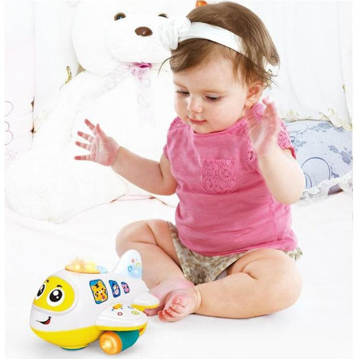 Bump-And-Go Musical Airplane | Shop Online | Snatcher