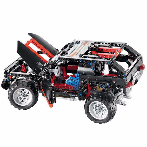 Decool 3341 Transport Cruiser SUV Building Block Sets