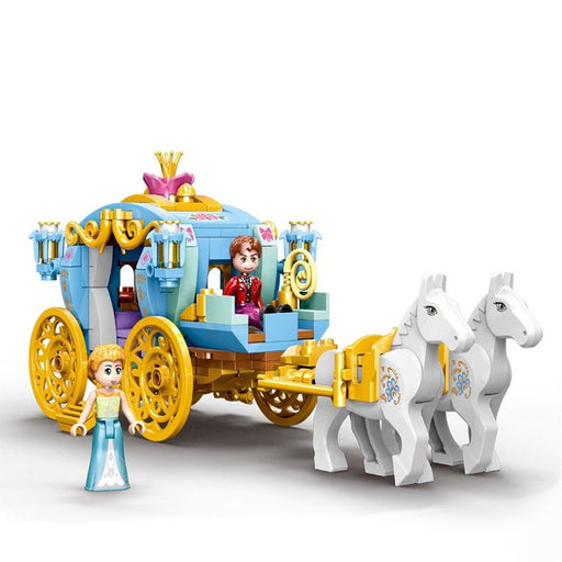 Princess Carriage Building Blocks