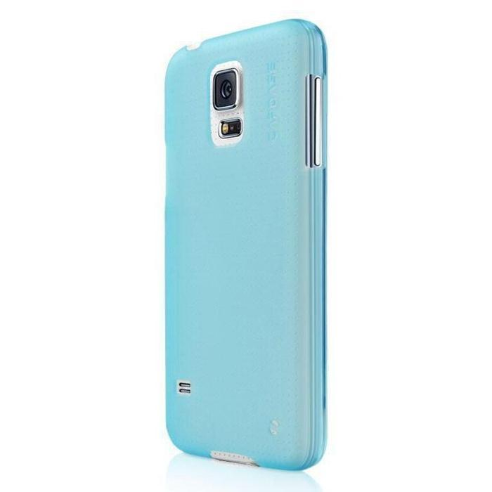Capdase Soft Jacket Samsung Galaxy S5 Tinted (Blue) | Shop Online | Snatcher