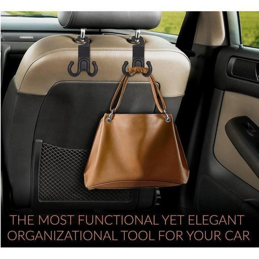 Car Headrest Hanger Hooks 2-for-1 | Shop Online | Snatcher
