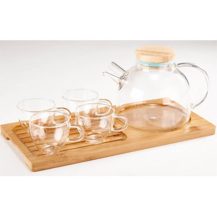 Classic Glass Infusion Tea Set | Shop Online | Snatcher