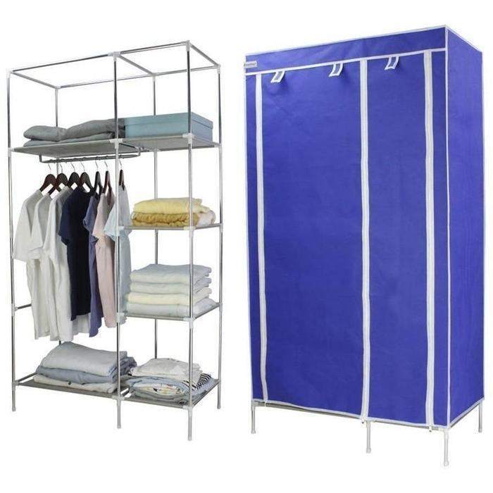 Double Canvas Wardrobe | Shop Online | Snatcher
