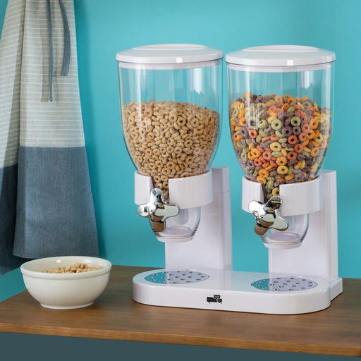 Double Cereal Dispenser - White | Shop Online | Snatcher