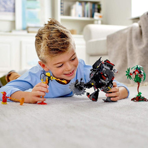 Batman Mech vs. Poison Ivy Mech Building Blocks Set