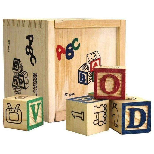 Educational Wooden ABC Blocks | Shop Online | Snatcher