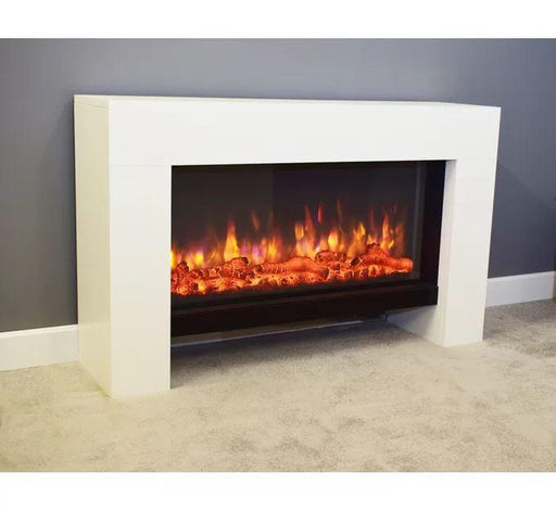 Electric Multi-Color Hot/Cold Fireplace With Remote | Shop Online | Snatcher