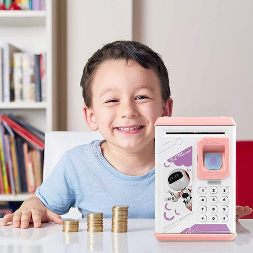 Fingerprint Electronic Piggy Bank | Shop Online | Snatcher