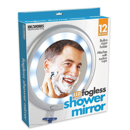 Fogless Shower Mirror With LED | Shop Online | Snatcher