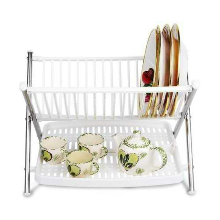 Foldable Kitchen Dish Rack - Buy Online - Affordable Online Shopping —  Snatcher