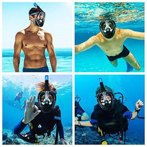 Full Dry Snorkeling Mask | Shop Online | Snatcher