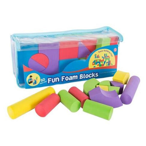 Fun Foam Blocks - 50pcs | Shop Online | Snatcher