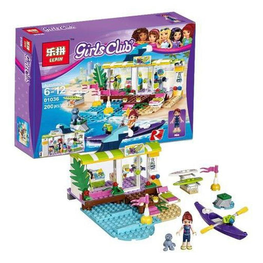 Girls Club- Surf Shop Building Blocks | Shop Online | Snatcher