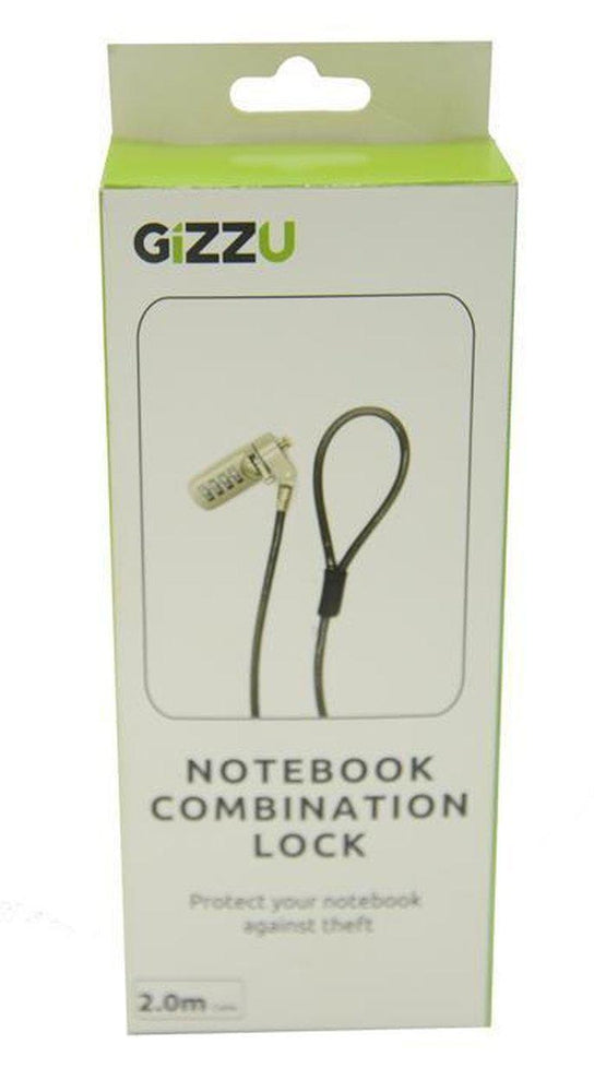 Gizzu Combination Lock 2m | Shop Online | Snatcher