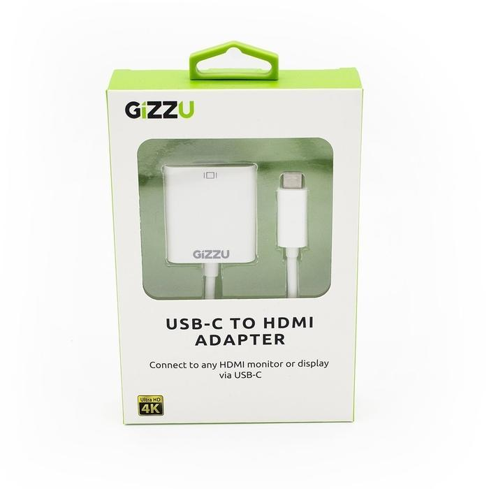GIZZU USB-C to VGA Adapter White | Shop Online | Snatcher
