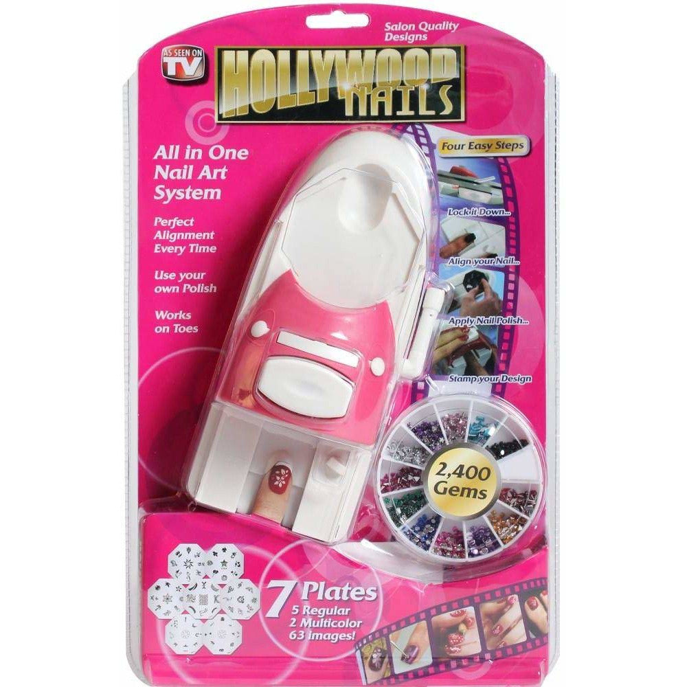 Hollywood Nails - All in One Nail Art System
