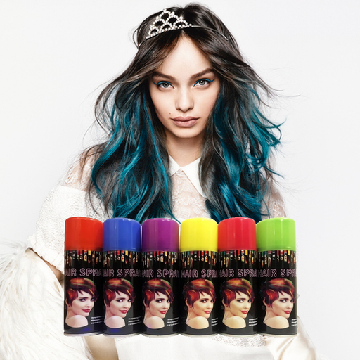 Temporary Color Hair Spray (Pack of 6)
