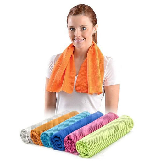 Instant Cooling Towel 2-For-1 | Shop Online | Snatcher