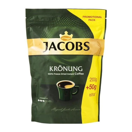 Jacobs Krönung Instant Coffee Pouch - 250g | Shop Online | Snatcher