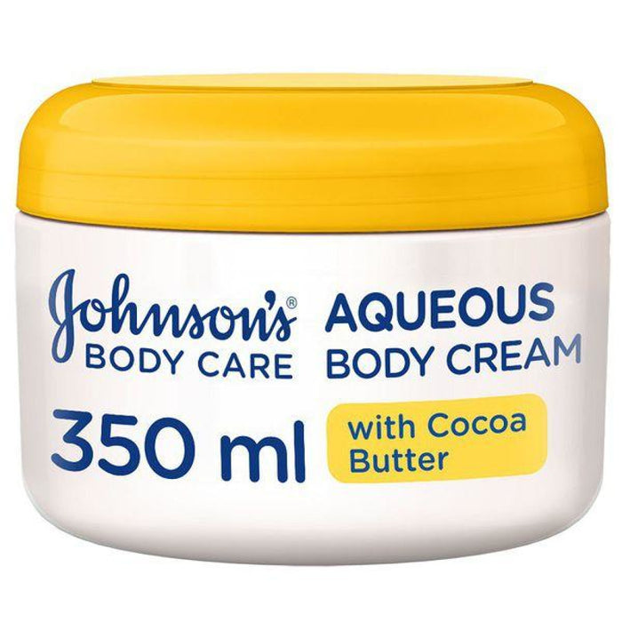 Johnsons Aqueous Cream With Cocoa Butter - 350Ml Essentials