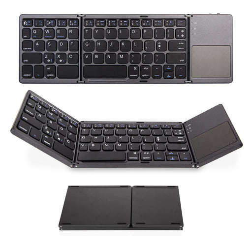 Folding Keyboard with TouchPad