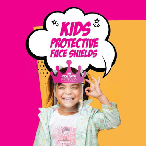 Kids Character Face Shields Health & Beauty