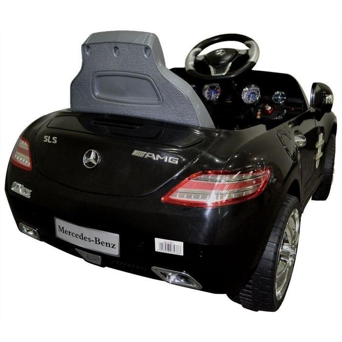 Kids Ride On Black Mercedes SLS AMG | Shop Online | Snatcher